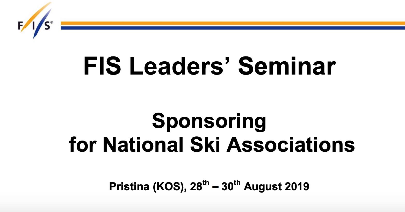 FIS Leaders Seminar