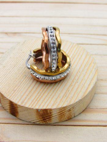 candonga 3 oros resina blanco 25mm