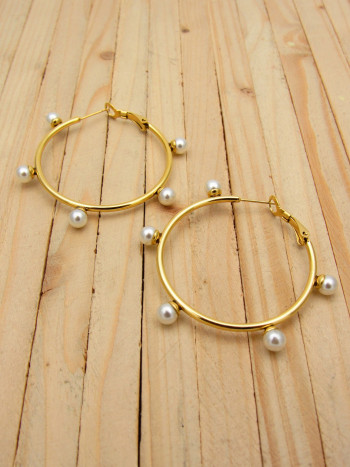 candonga dorada perlas