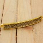 cover gold dorado zircones blanco SKU2115