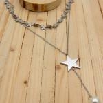 juegos plateado perlas blanco  2cm SKU2294
