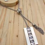 juegos plateado zircones blanco  6cm SKU2299
