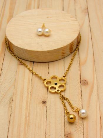 juegos dorado perlas blanco