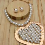 juegos rosado perlas   grandes SKU3446