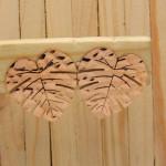 aretes rosado     SKU3501