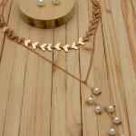 aretes rosado perlas    SKU3540