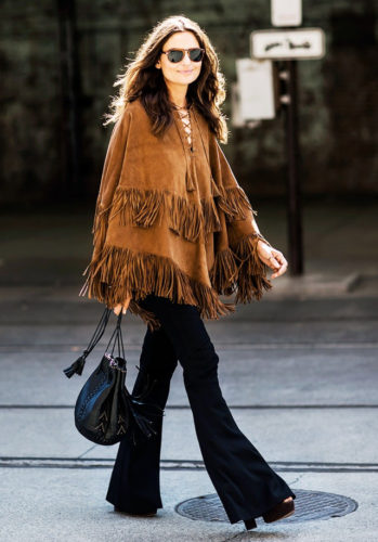 poncho-and-flared-jeans