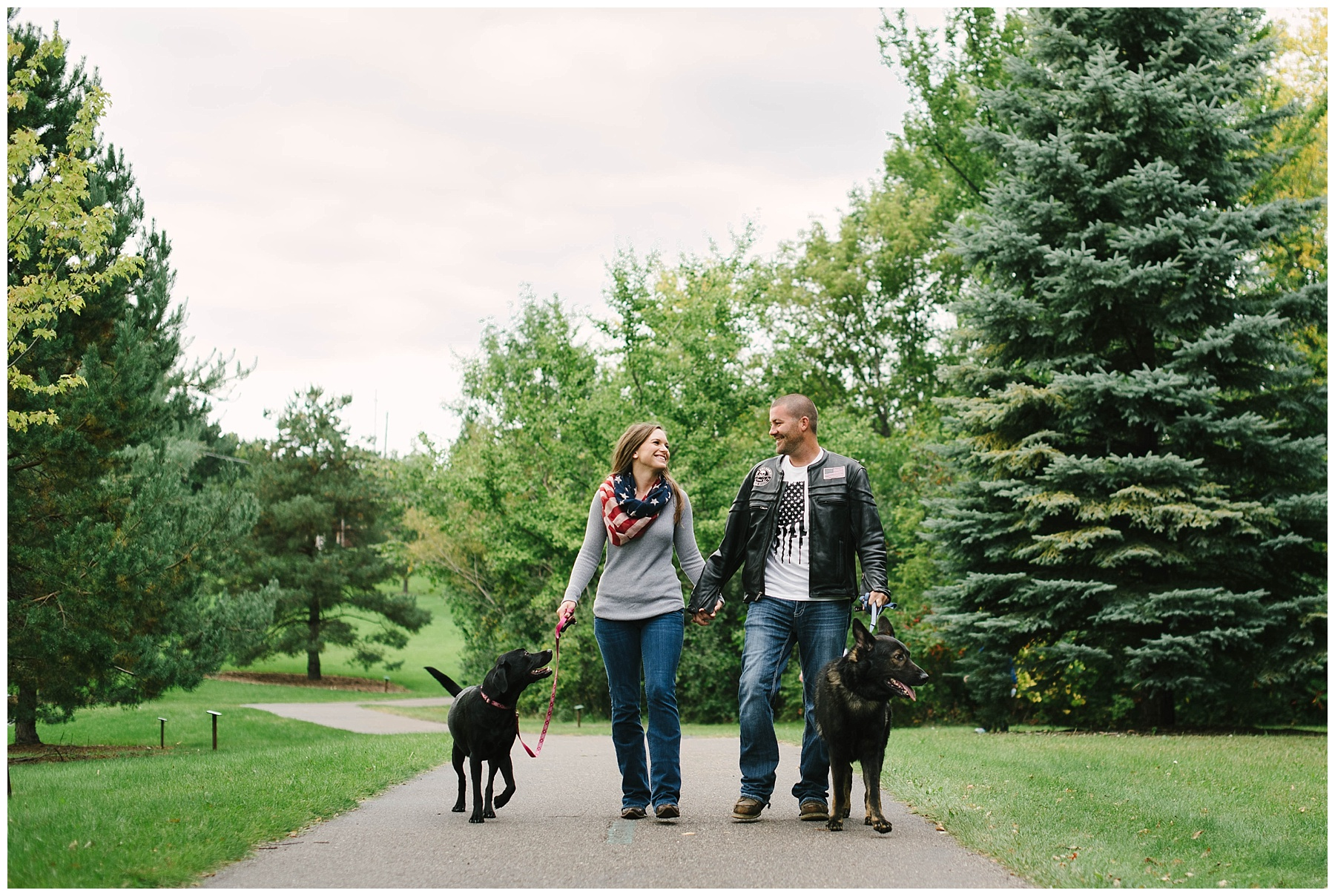 mn engagement with dogs