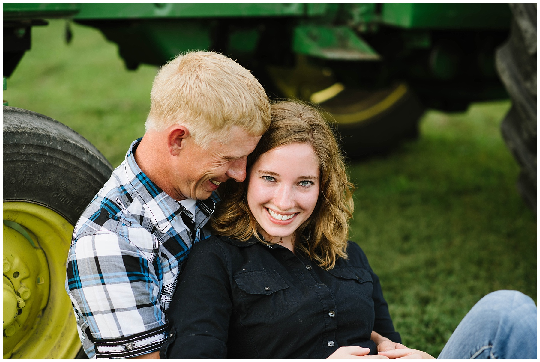 couple with tractor engagement