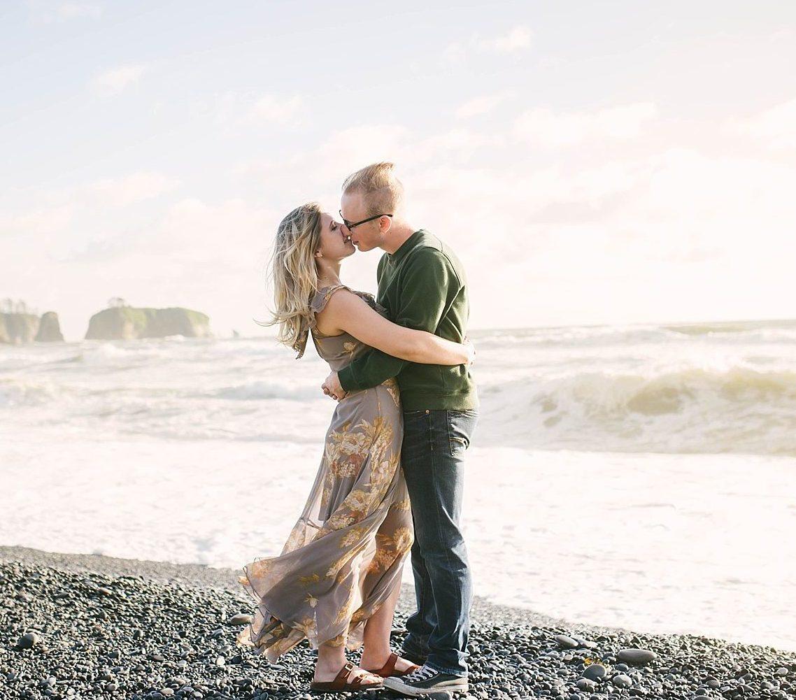 Rialto Beach Engagement