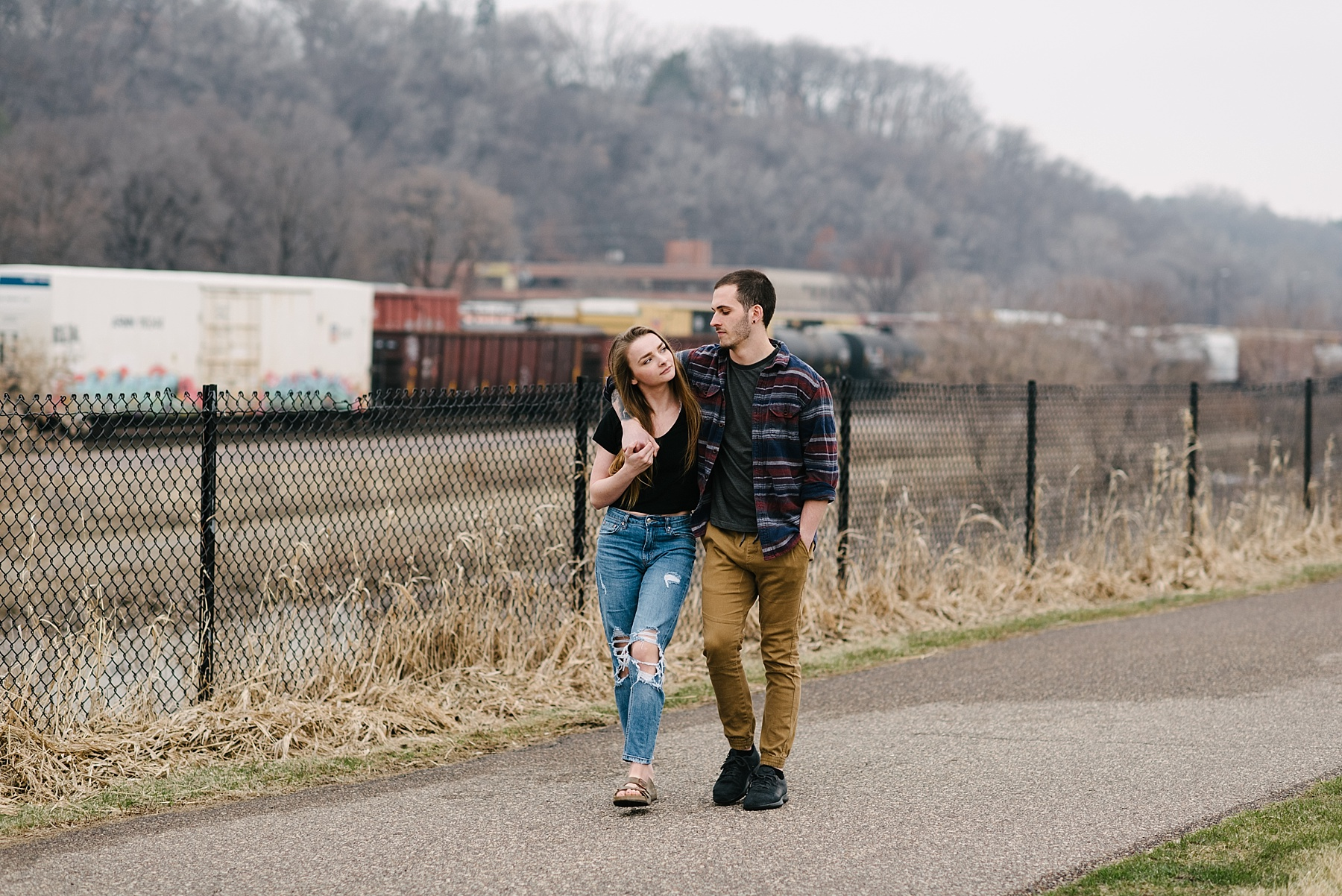 south st. paul engagement session