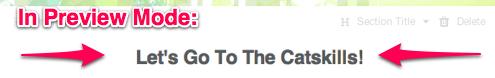 html tricks and tips 1: centering, ta da!