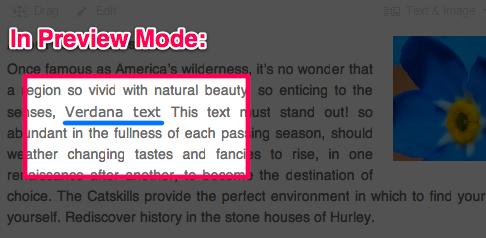 html tricks and tips 4 font change after