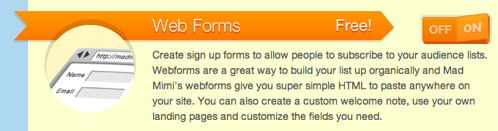 Webform Description