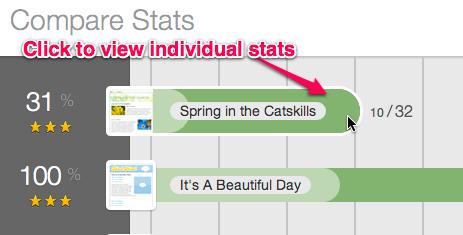 View stats individual
