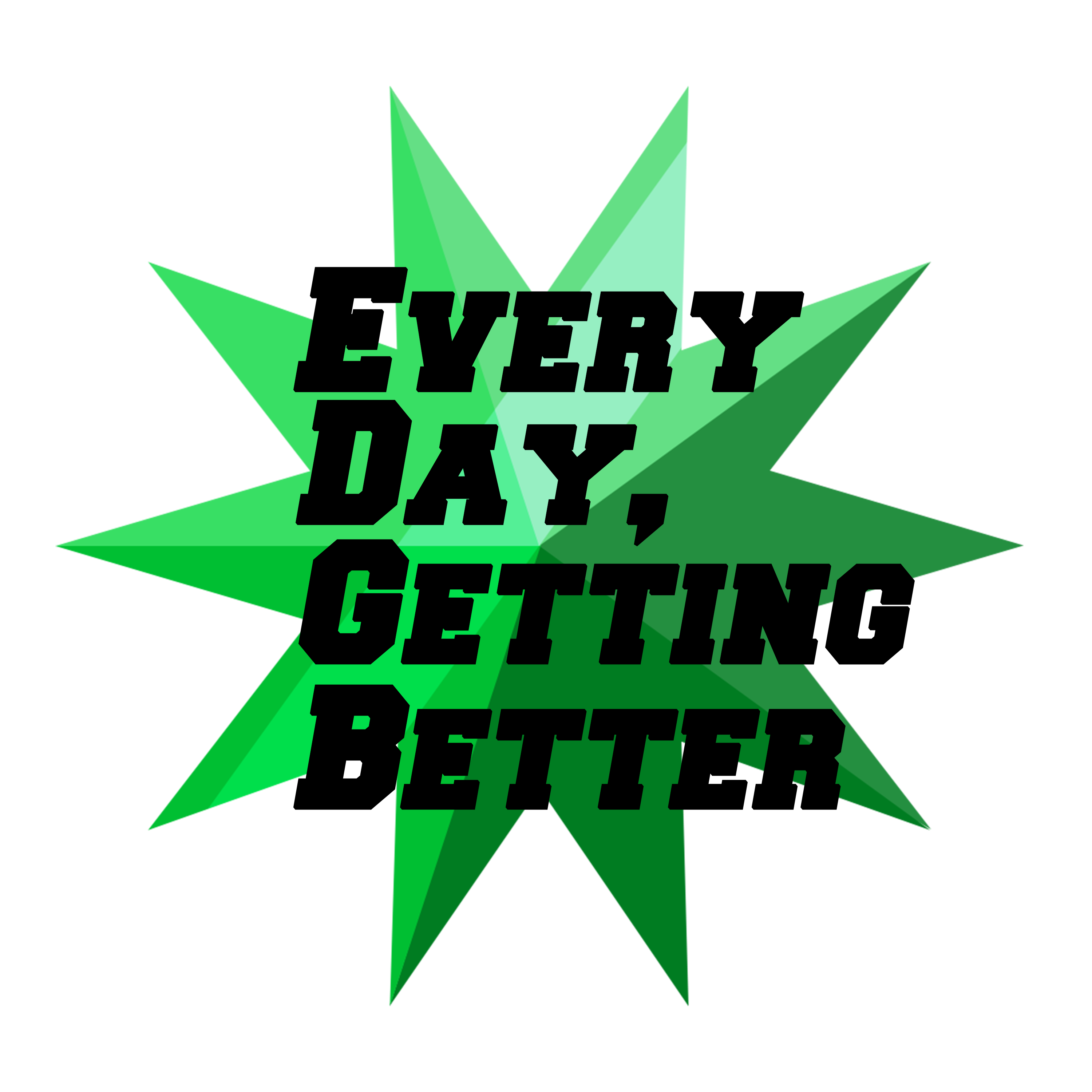 Every Day, Getting Better Logo
