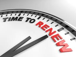 Renewal Time Around The Corner?
