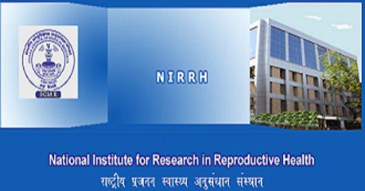 NIRRH job post of Research Officer (Non Medical)