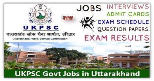 Uttarakhand Public Service Commission Syllabus