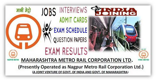 Maha-Metro Recruitment 2018 — Section Engineer, Sr