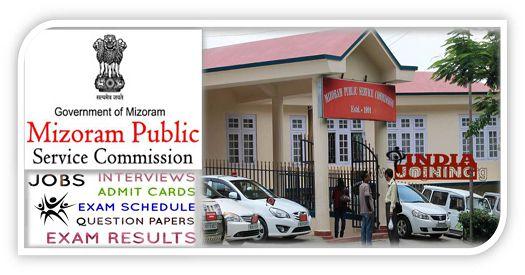 Mizoram Public Service Commission Latest Syllabus List