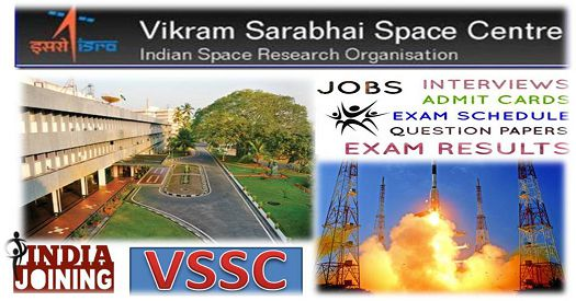VSSC Question Papers - Download VSSC Previous Years Papers