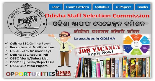OSSC Combined Auditor 2019 — Syllabus, Notification, Form, 82 Posts