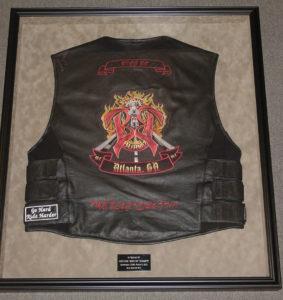 Framed Biker Jacket