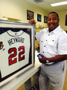 Framed Heyward Jersey