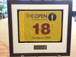 The Open Golf Flag