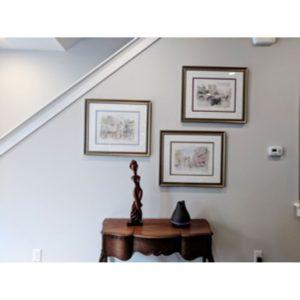 Three Frames on a Wall