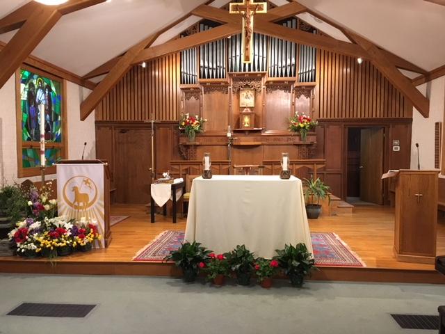 St. Rita altar