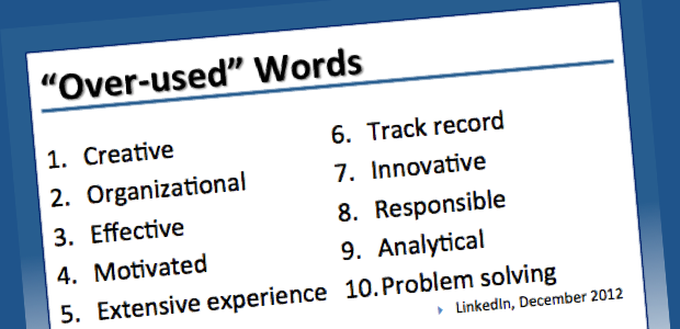 LinkedIn's Overused Buzzwords