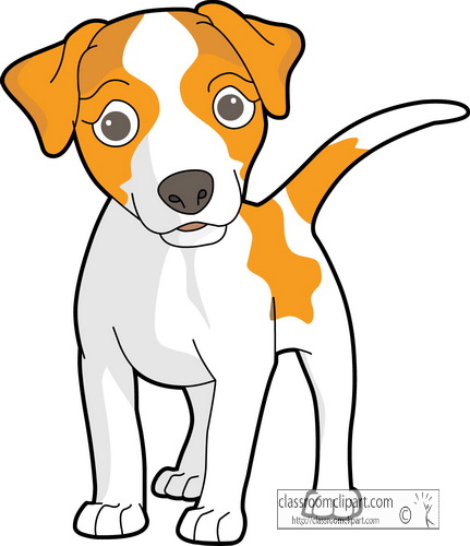jack russell terrier clipart