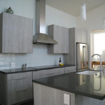 woodrow granite countertops in kitchen