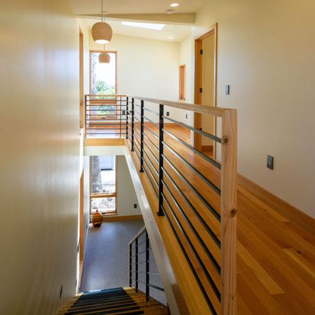 woodrow hardwood floors and hallway
