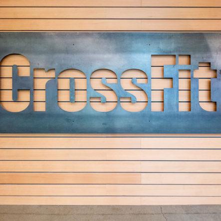 crossfit entryway design