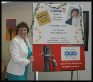 Administrative professionals speaker