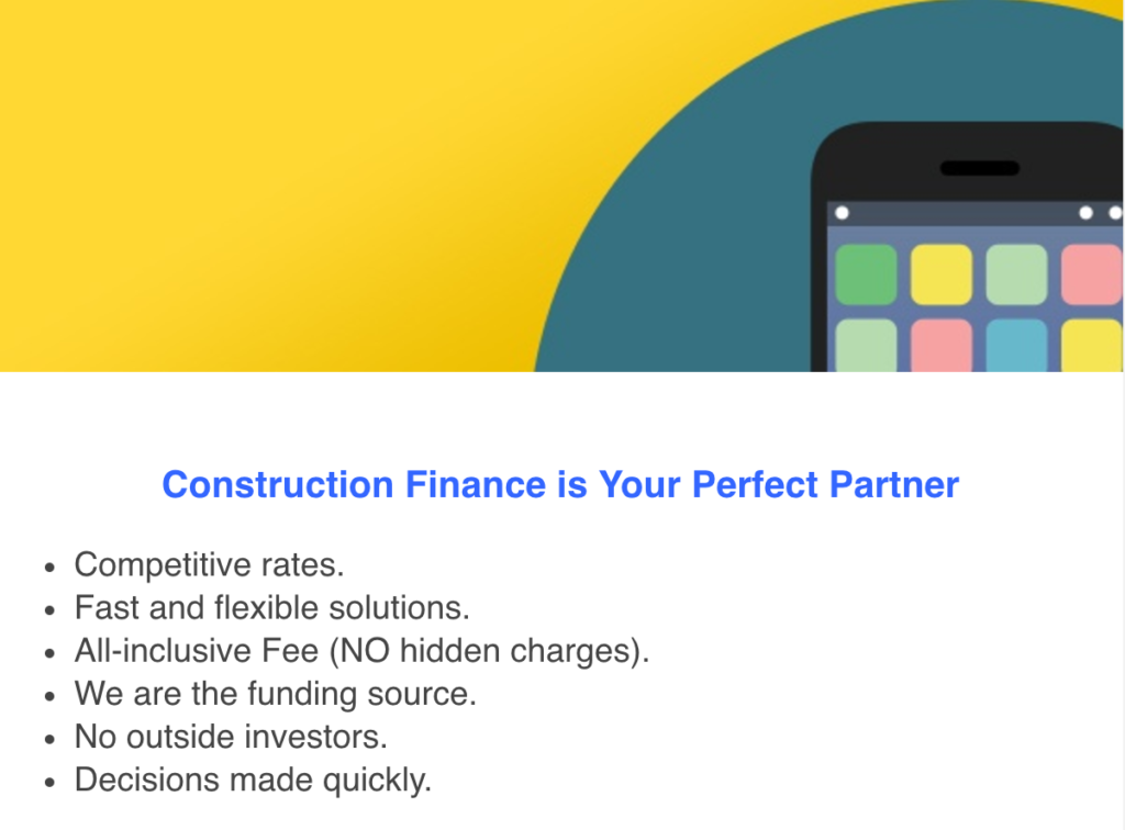 Construction Finance is Your Factoring Partner