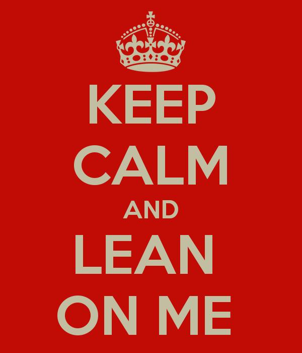 Lean on Me or Lien on Me