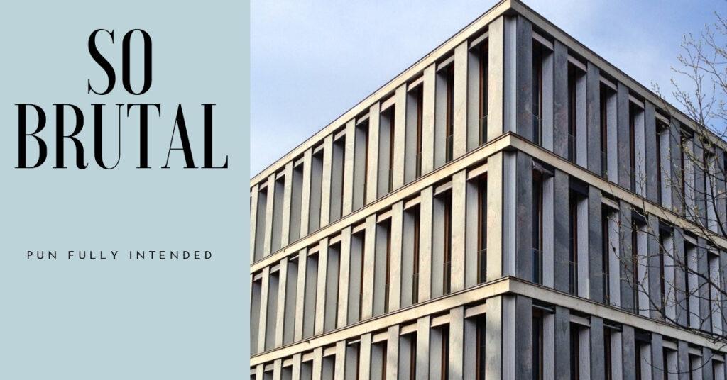 construction finance brutalist architecture
