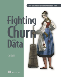 Cover for the Book Fighting Churn With Data
