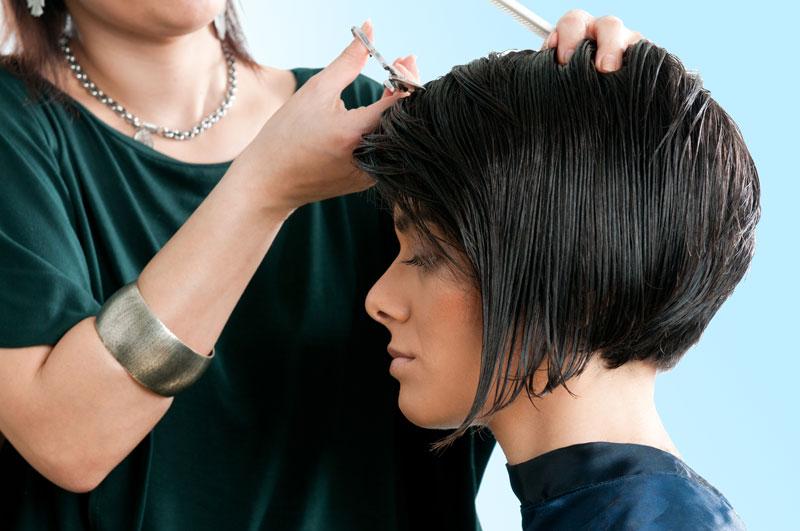 Outdoor haircuts