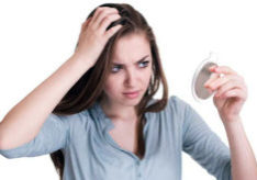 Checking scalp