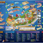 E-Da World Theme Park Map.