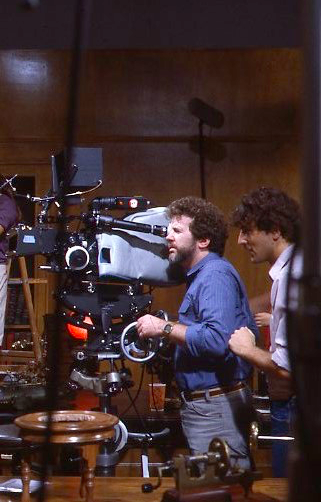 Gary Goddard and Keith Melton (Director) working on THE SENSORIUM 3D Film Production Copyright The Goddard Group All Rights Reserved
