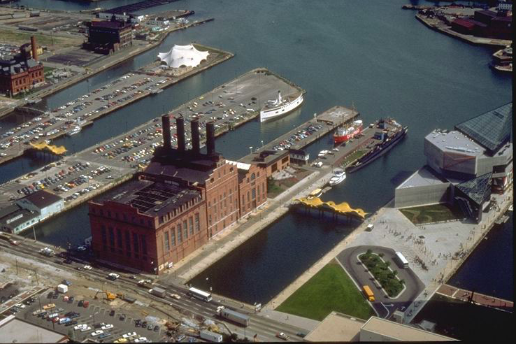 Six Flags Power Plant in Baltimore Copyright The Goddard Group All Rights Reserved