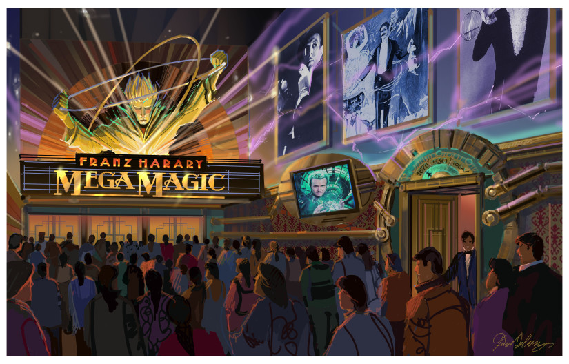Franz Harary World of Magic GRAND HALL