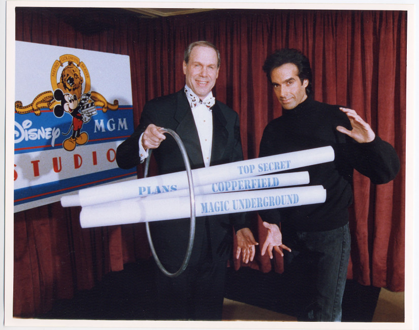 David Copperfield Michael Eisner