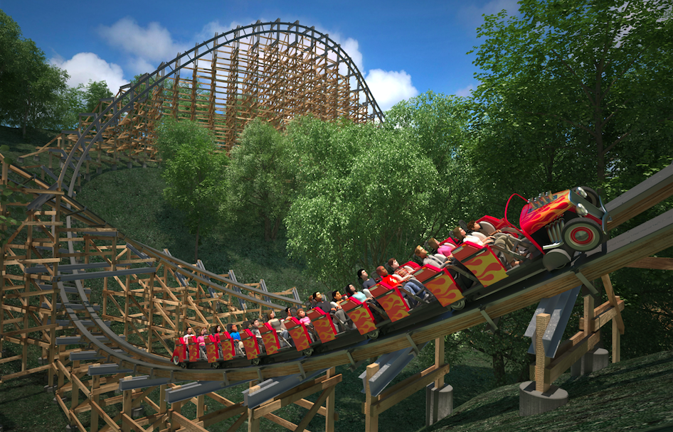 Dollywood Gives Details On Lightning Rod Worlds First Launched